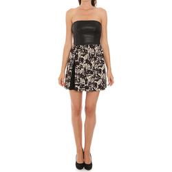 textil Dam Korta klänningar Liu Jo C65191T1539_Z9528 Negro