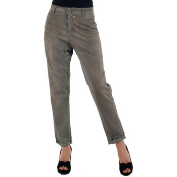 textil Dam Chinos / Carrot jeans Miss Sixty MIS01024 Gris
