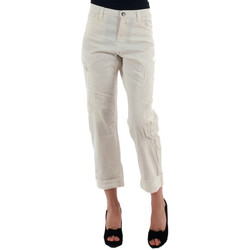 textil Dam Chinos / Carrot jeans Miss Sixty MIS01030 Blanco roto