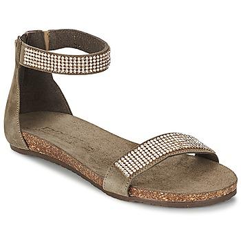 Skor Dam Sandaler Dixie GRAMMO Mullvadsfärgad