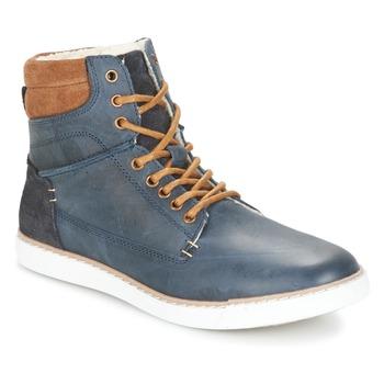 Skor Pojkar Höga sneakers Bullboxer  Blå / Kamel
