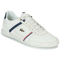 Skor Herr Sneakers Lacoste MENERVA 118 1 Vit