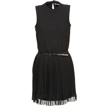 textil Dam Korta klänningar Only AYO Svart