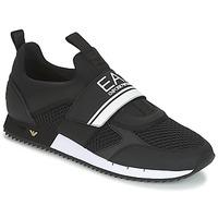 Skor Herr Sneakers Emporio Armani EA7 BLACK & WHITE U Svart