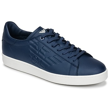 Skor Herr Sneakers Emporio Armani EA7 CLASSIC U Blå