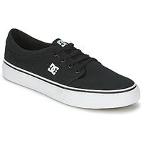 Skor Herr Sneakers DC Shoes TRASE TX MEN Svart / Vit