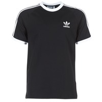 textil Herr T-shirts adidas Originals 3 STRIPES TEE Svart