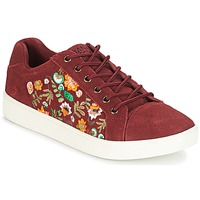Skor Dam Sneakers Banana Moon RACLO Bordeaux