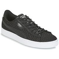 Skor Dam Sneakers Puma BASKET SATIN EP WN'S Svart