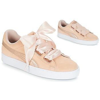 Skor Dam Sneakers Puma SUEDE HEART LUNALUX W'S Rosa