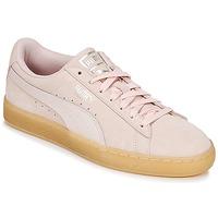 Skor Dam Sneakers Puma SUEDE CLASSIC BUBBLE W'S Rosa