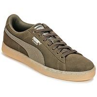 Skor Dam Sneakers Puma SUEDE CLASSIC BUBBLE W'S Svart / Grå