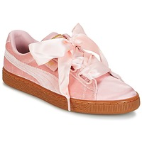 Skor Dam Sneakers Puma BASKET HEART VS W'N Rosa