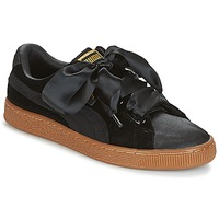Skor Dam Sneakers Puma BASKET HEART VS W'N Svart