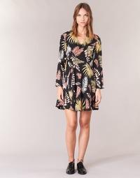 textil Dam Korta klänningar Betty London HYPO Svart / Flerfärgad
