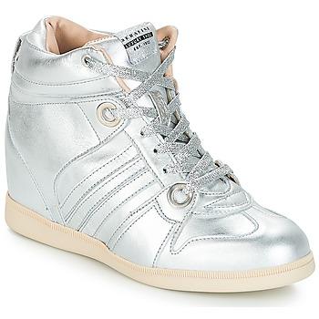 Skor Dam Höga sneakers Serafini MANHATTAN Silverfärgad