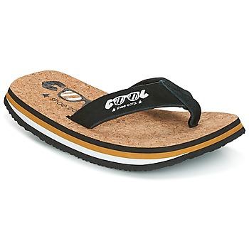 Skor Herr Flip-flops Cool shoe ORIGINAL Svart / Kamel