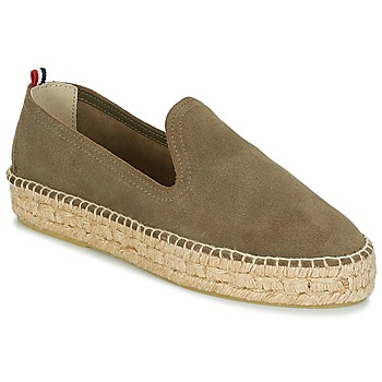 Skor Dam Espadriller 1789 Cala SLIP ON DOUBLE LEATHER Kaki
