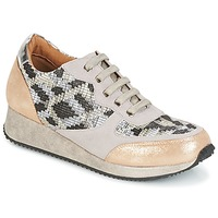 Skor Dam Sneakers Karston SEMIR Beige / Guldfärgad
