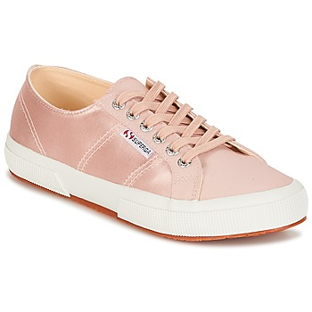 Skor Dam Sneakers Superga 2750 SATIN W Rosa