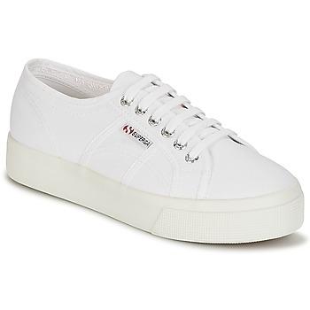 Skor Dam Sneakers Superga 2730 COTU Vit