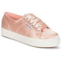 Skor Dam Sneakers Superga 2730 SATIN W Rosa