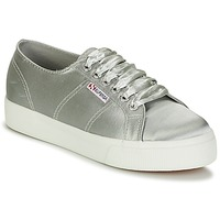 Skor Dam Sneakers Superga 2730 SATIN W Grå