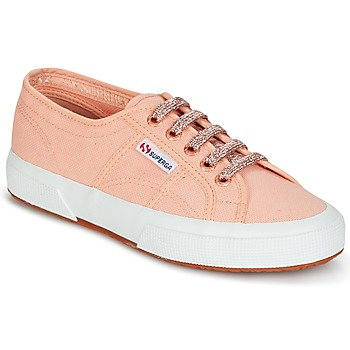 Skor Dam Sneakers Superga 2750 CLASSIC SUPER GIRL EXCLUSIVE Persika