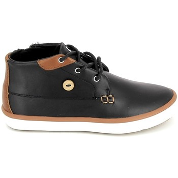 Skor Barn Höga sneakers Faguo Wattle Leather BB Noir Svart