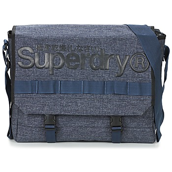 Väskor Axelremsväskor Superdry MERCHANT MESSENGER BAG Marin