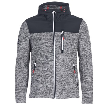 textil Herr Sweatshirts Superdry STORM MOUNTAIN ZIPHOOD Grå