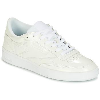 Skor Dam Sneakers Reebok Classic CLUB C 85 PATENT Vit