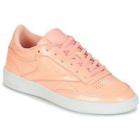 Skor Dam Sneakers Reebok Classic CLUB C 85 PATENT Rosa