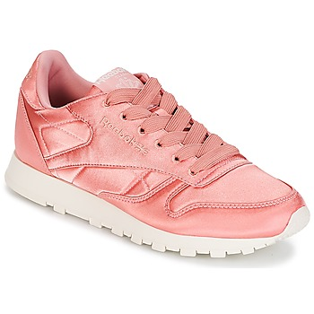 Skor Dam Sneakers Reebok Classic CLASSIC LEATHER SATIN Rosa