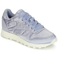 Skor Dam Sneakers Reebok Classic CLASSIC LEATHER SATIN Violett