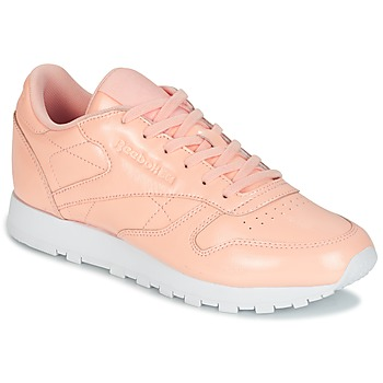 Skor Dam Sneakers Reebok Classic CLASSIC LEATHER PATENT Rosa