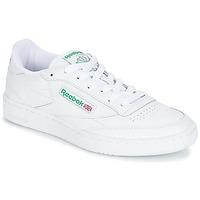 Skor Sneakers Reebok Classic CLUB C 85 Vit / Grön