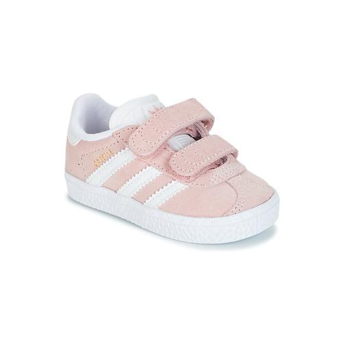 Skor Flickor Sneakers adidas Originals GAZELLE CF I Rosa