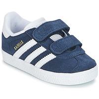 Skor Pojk Sneakers adidas Originals GAZELLE CF I Marin