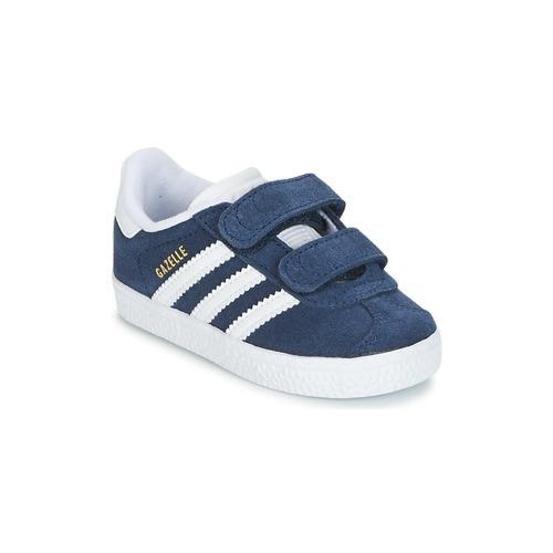 arrives da1fc cbcda Skor Pojkar Sneakers adidas Originals GAZELLE CF I Marin