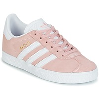 Skor Flickor Sneakers adidas Originals GAZELLE C Rosa