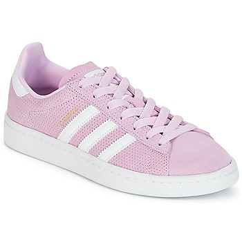 Skor Flickor Sneakers adidas Originals CAMPUS J Rosa