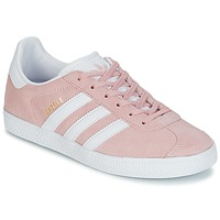 Skor Flickor Sneakers adidas Originals GAZELLE J Rosa