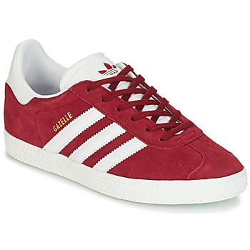 Skor Barn Sneakers adidas Originals GAZELLE J Bordeaux