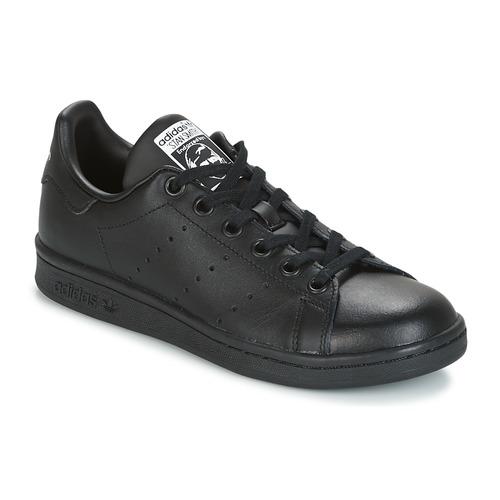 Skor Barn Sneakers adidas Originals STAN SMITH J Svart