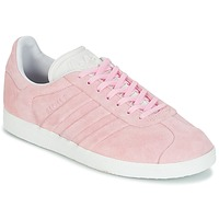 Skor Dam Sneakers adidas Originals GAZELLE STITCH Rosa