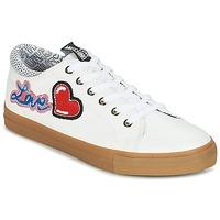 Skor Dam Sneakers Love Moschino JA15213G15 Vit