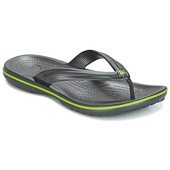 Skor Flip-flops Crocs CROCBAND FLIP Svart / Grön