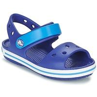 Skor Pojk Sandaler Crocs CROCBAND SANDAL KIDS Blå