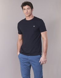 textil Herr T-shirts Fred Perry RINGER T-SHIRT Marin